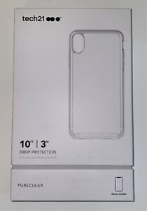 Tech21 Clear iPhone XS Max Case