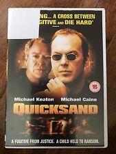 MICHAEL CAINE MICHAEL KEATON QUICKSAND ~2003 POLIZIESCO THRILLER UK noleggio DVD