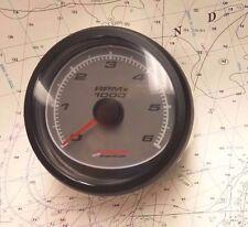 Mercury 79-879904K1 Tachometer-6K-Grey