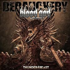 DEBAUCHERY VS. BLOOD GOD - Thunderbeast - Limit.Gatefold Red Vinyl-LP - 305940