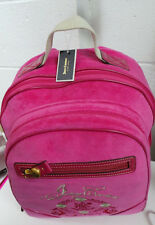 Juicy Couture Backpack Girls Teen Pink Fuchsia School   BRAND NEW/ FREE SHIPPING