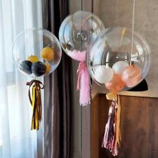 10pcs 12'' Transparent Bobo Bubble Ballons Wedding Celebration Birthday Party