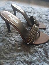 Morgan Sequin Embellished  Backless Sandals size 7 (eu 40)