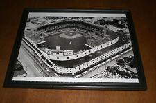 1968 DETROIT TIGERS STADIUM FRAMED B&W  PRINT