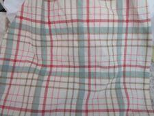 Ralph Lauren Chaps Queen Bed Skirt Dust Ruffle Sage Plaid