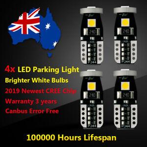 4x Parker Parking Light For FORD RANGER 2008 2009 2010 White CREE LED Bulb Globe