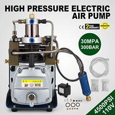 110V High Pressure Air Pump Electric PCP  Compressor Airgun Scuba Rifle 30MPA