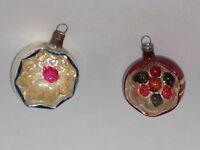 Glass Christmas Ornament Antique West German Vintage Decoration 1950's