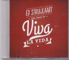 Ed Struijlaart-Viva La Vida promo cd single