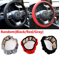 All Seasons Cool Elastic Car Auto Steering Wheel Cover Non Slip Accessories Kit