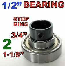 """3 pc Top Mounted 3/4"""", 1-1/4"""" Bearing & Stop Ring for 1/2"""" SH Router Bit sct-888"""