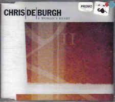 Chris de Burgh- A Womans Heart Promo  cd single sealed