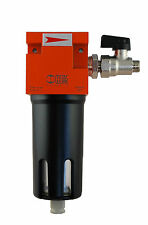 Coalescing Filter Regulator FLCF Breathing air filtration for Spraybooths 1/2 In