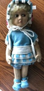 """Antique 11"""" Early Lenci, or Lenci-Type Doll"""