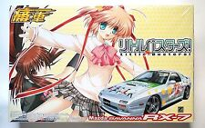 "AOSHIMA itasya 1/24 ""Little Busters"" Mazda RX-7 FC3S shrinked scale model kit"