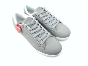 Trustyle Plain Lace Pumps Mens Shoes Grey - Size 9 Size 8 Size 7