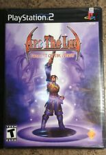 Arc the Lad: Twilight of the Spirits PS2 Sony PlayStation 2 Game NEW/SEALED