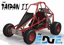 TAIPAN II,  ALL NEW DESIGN, mini dune buggy, go kart buggy plans on CD disc