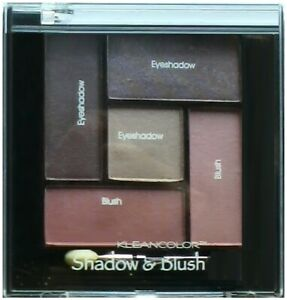 KLEANCOLOR SHADOW & BLUSH COMBO AST NEUTRAL COLORS #364 FREE SHIPPING USA HTF
