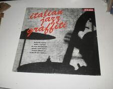 ITALIAN JAZZ GRAFFITI - Trovajoli/Cuppini/Nicolosi/Basso - MUSICA JAZZ LP - 1988