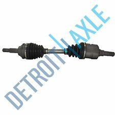 Complete Front Driver Side CV Axle Shaft - w/ ABS- Made in USA for Corolla Prizm