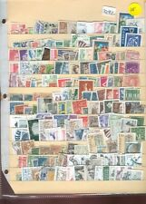 s2292 Stamp Accumulation Sweden Stock Page