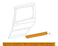 Chevrolet GM OEM Uplander Side Sliding Door-Body Side Molding Left 15947749