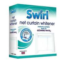 NET CURTAIN WHITENER 4 Pack by SWIRL - Mrs Hinch Recommended!