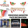 Door Archway Monster Face Huge Car Stickers Garage Halloween Adhesive Decoration