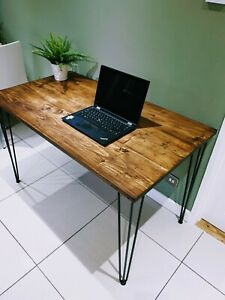 Reclaimed Timber Desk - Home Office Workspace