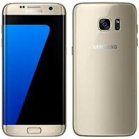 New Samsung Galaxy S7 Edge Gold Platinum SM-G935F LTE 32GB 4G Factory Unlocked