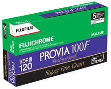 5 PACK Fuji Provia 100F Professional RDP III 120 Roll Colour Reversal Slide Film