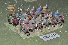 25mm medieval / saracen - cavalry 12 cavalry - cav (12104)