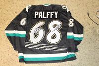 Ziggy Palffy Islanders Fisherman Bauer Denver Grizzlies Jersey XXL sewn 50th ann