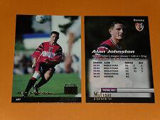 ALAN JOHNSTON STADE RENNAIS RENNES ROAZHON FOOTBALL CARD PANINI 1996-1997