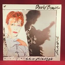 David Bowie Scary Monsters 1980 German Vinyl LP + Inner Excellent état G