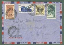 Storia postale. REPUBBLICA ITALIANA. Aereogramma del 7.10.1952 da Genova...