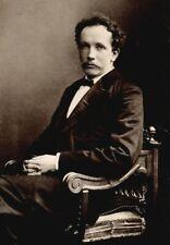 *GREAT GERMAN COMPOSER RICHARD STRAUSS RARE 1890 CABINET PHOTO*