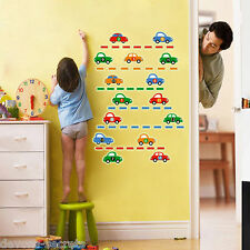 Wall decal stickers kids child boys car glow in dark reusable playroom sign DC3