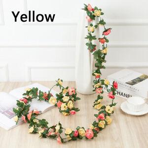 2.5M Fake Peony Vine Artificial Flower Hanging Simulation Flowers Plants