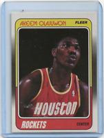 1989 Fleer Akeem Olajuwon #53 MINT HOF