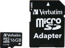 Tarjetas de memoria MicroSDHC Clase 10 para teléfonos móviles y PDAs con 16 GB de la tarjeta