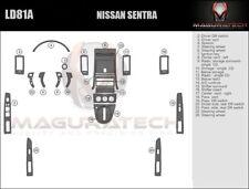 Fits Nissan Sentra 4DR 2007-2009 W/Single Disc Large Premium Wood Dash Trim Kit
