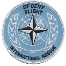 Operation Deny Flight United Nations NATO Embroidered Patch ** LAST FEW **