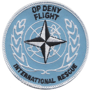 Operation Deny Flight United Nations NATO Embroidered Patch - LAST FEW