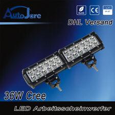 2X 36W Led Arbeitsscheinwerfer Strahler Lampe SUV ATV leuchte 12V 24V Light bar