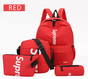 Three pieces supreme backpack