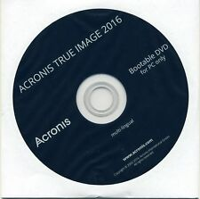 Acronis True Image 2016 1 PC Backup & Recovery / Vollversion  Deutsch  DVD + Key