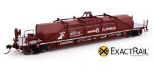 Exact Rail Platinum HO Conrail 54' Coil Shield Car 631111 NEW EP-81601-18