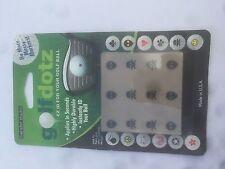 Golf Dotz ID Ball Marker Transfers - Aliens